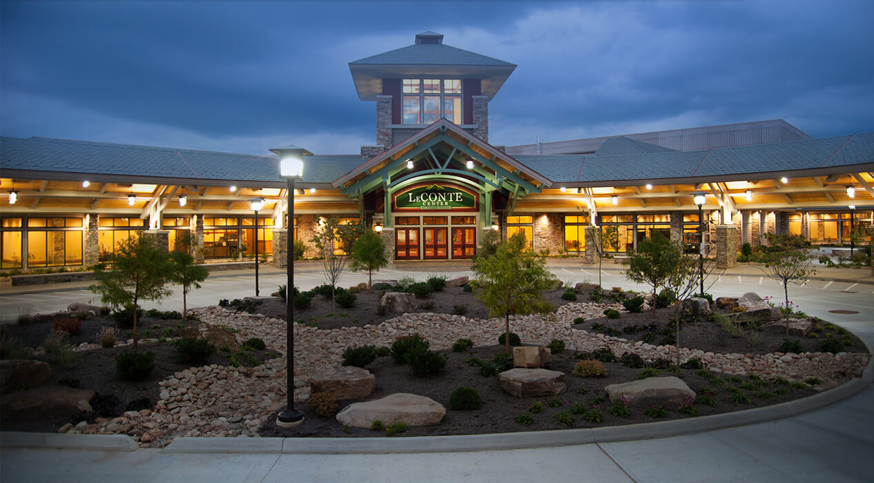leconte center at pigeon forge premier tennessee event facility